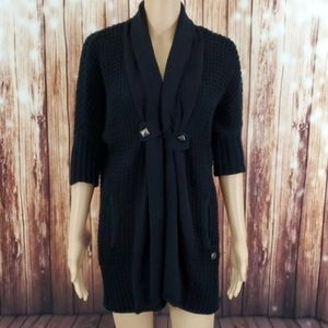 Guess Cardigan Small Black